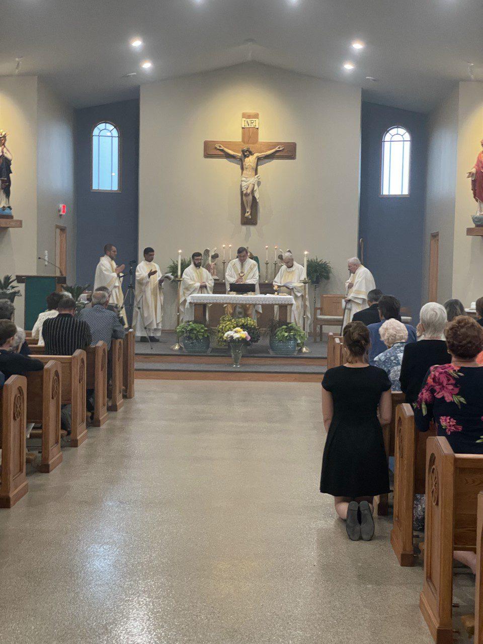 St. Anthony in Lake Nebagamon Dedication