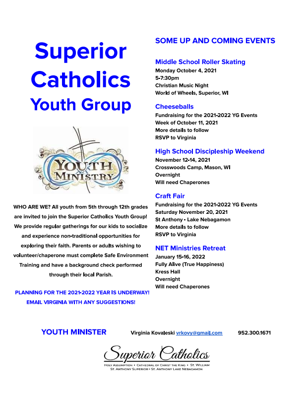 Fall Youth Group