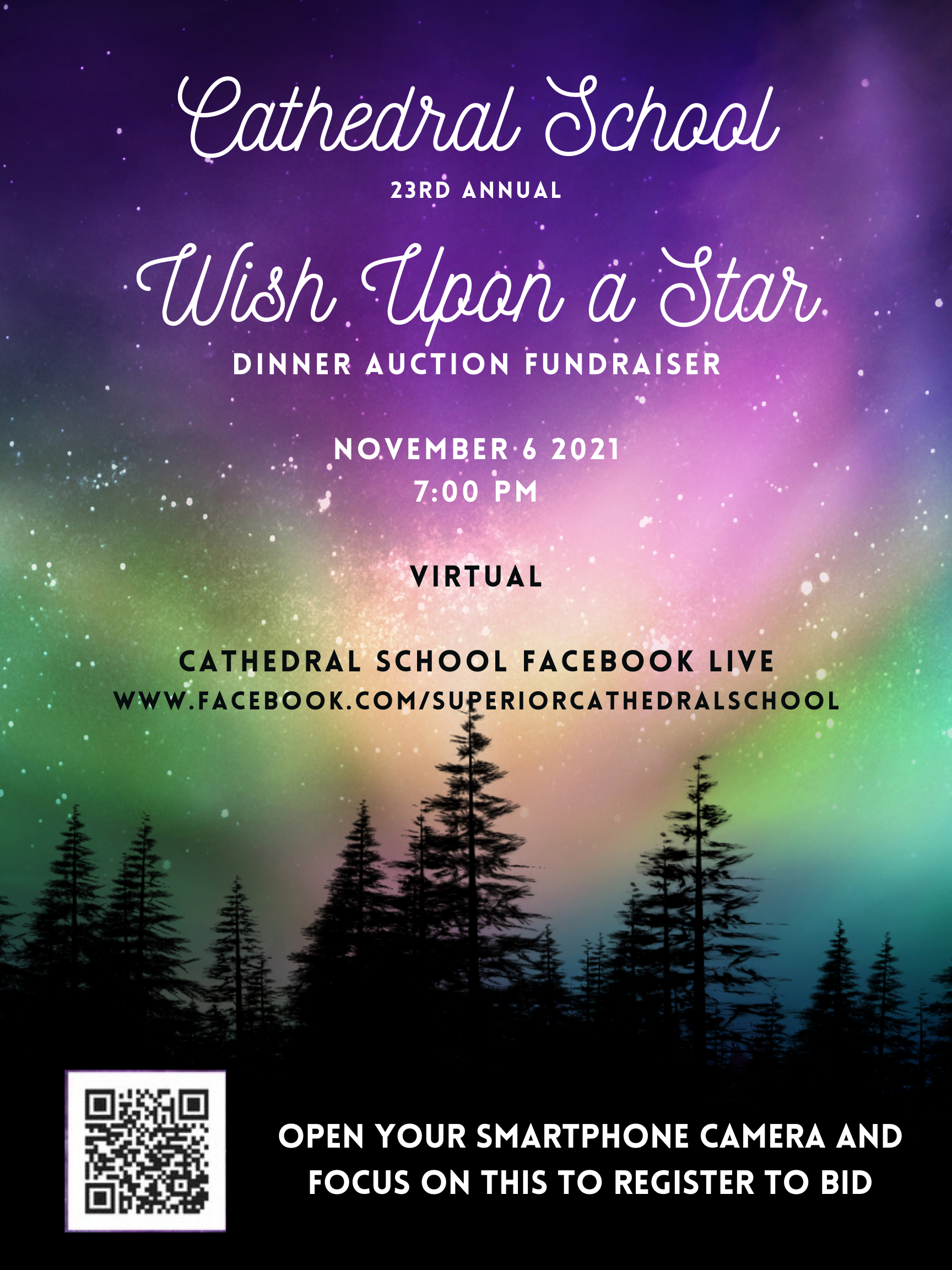 Cathedral School Wish Upon a Star Auction